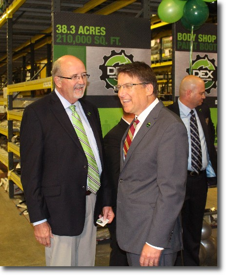 Davie County Welcomes DEX Heavy Duty Parts and 38 New Jobs!