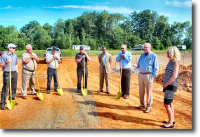 Beroth Tire & Automotive Breaks Ground in Mocksville