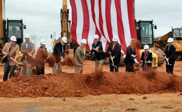Groundbreaking at Southpoint Industrial Park in Mocksville – A Job Creation Machine!
