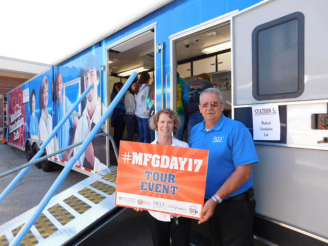 Students Explore Career Options as Davie County Celebrates Manufacturing Day 2017