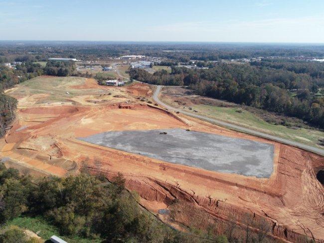 Davie Industrial Center Phase One Under Construction