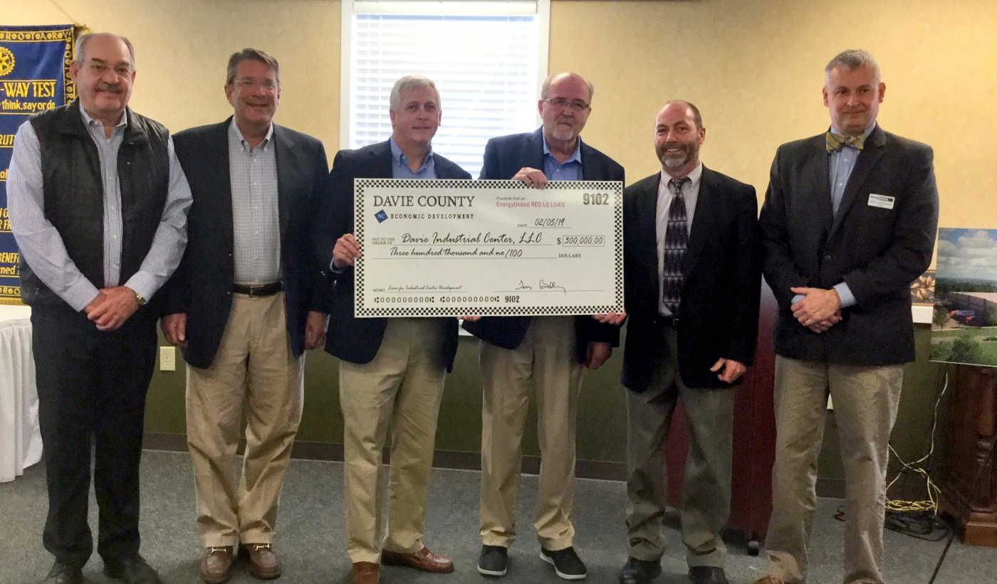 $300,000 Interest Free Loan from Energy United Helping Bring Jobs to Davie County