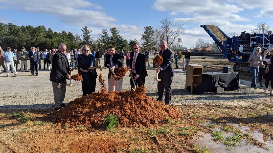 Davie County Community Park Groundbreaking