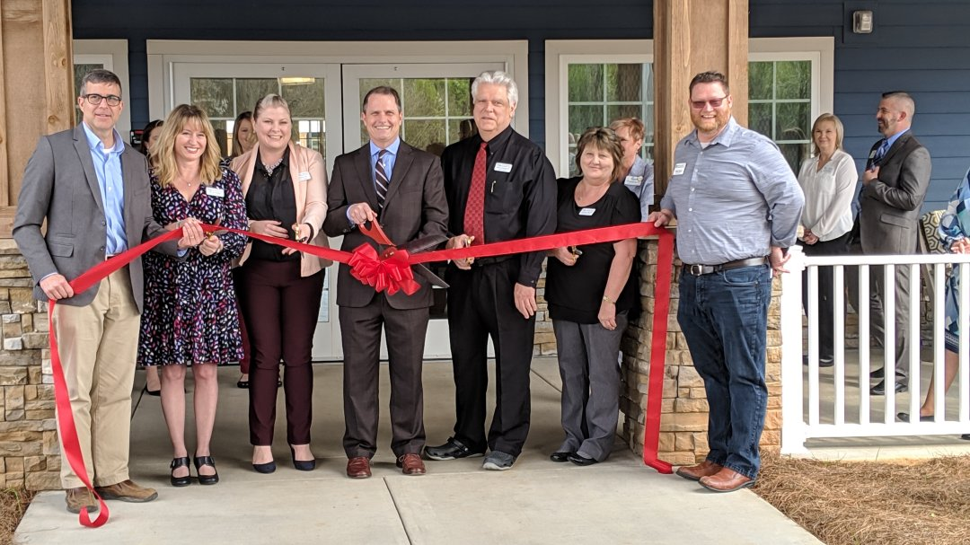 Davie Health and Rehabilitation hosted a ribbon cutting and after hours event in conjunction with the Davie County Chamber of Commerce