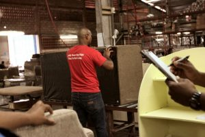 Wood House Furniture manufacturing facility in Trinidad