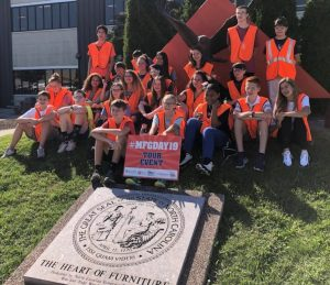 Students Explore Local Career Options as Davie County Celebrates Manufacturing Day 2019