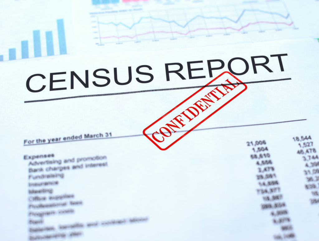 A census document shows how funding is impacted by the reports.