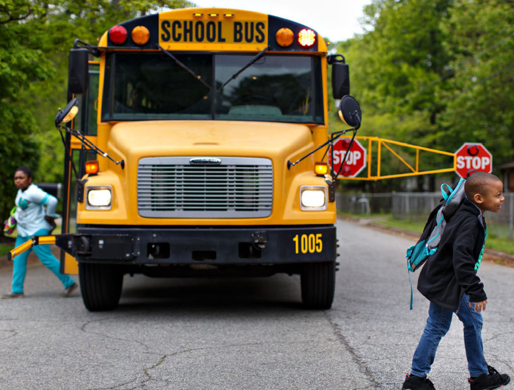 Bus Safety Innovator Seeks Move to Mocksville