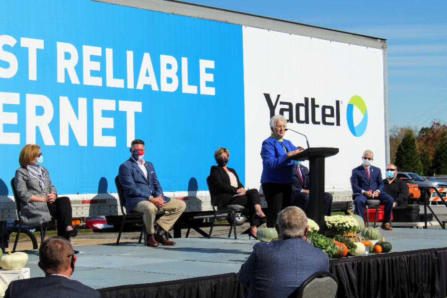 U.S. Representative Virginia Foxx thanked federal, state, and local officials for working to make this expansion possible.