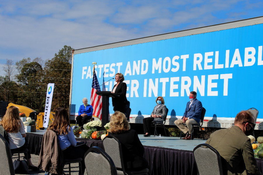 Yadtel CEO Mitzie Branon shared the company's commitment to expanding broadband to all of its members.