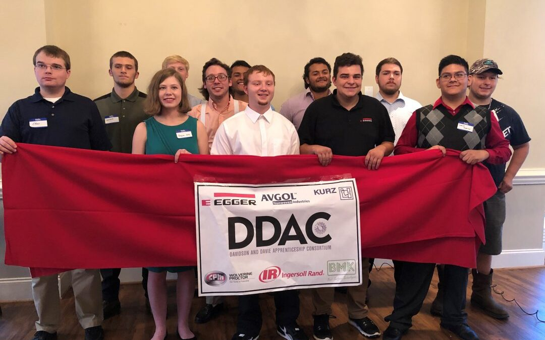 """Congratulations"" to the First Class of Davie Students to Complete Training and Join the DDAC Apprenticeship Program"